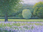 """Lavender Greens"" © - Original art by Lee (Lowther) Kergin"